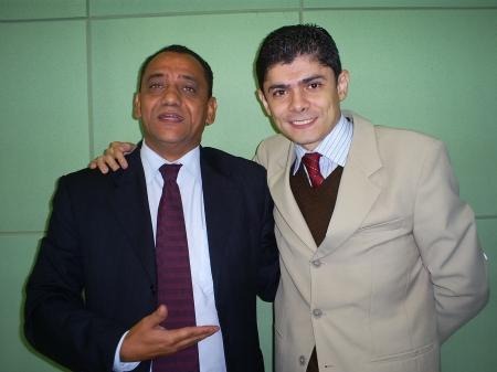Geraldo e Dinho: no plenário, disputa. Fora, respeito. (foto: Allan Nóbrega)