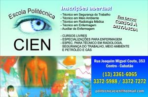 Empresa: Escola Profissionalizante Cien - Arte: Allan Nóbrega