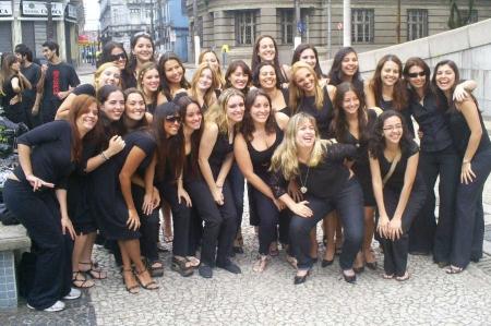 Formandas da turma 2004/2007