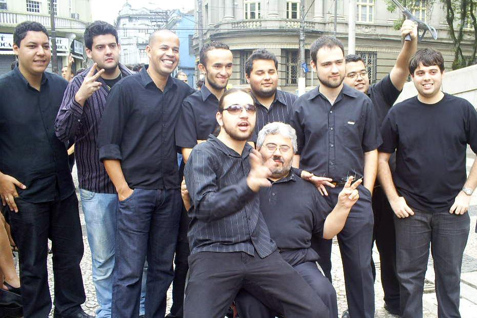 Formandos da turma 2004/2007